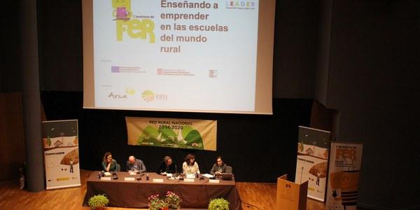 """El GAL Noguera Segrià Nord presenta el projecte transnacional """"FER: ensenyant a emprendre a les escoles rurals"""" al Evento Leader 2018 de Cuenca"""